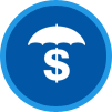 The Insurance Place Umbrella Icon