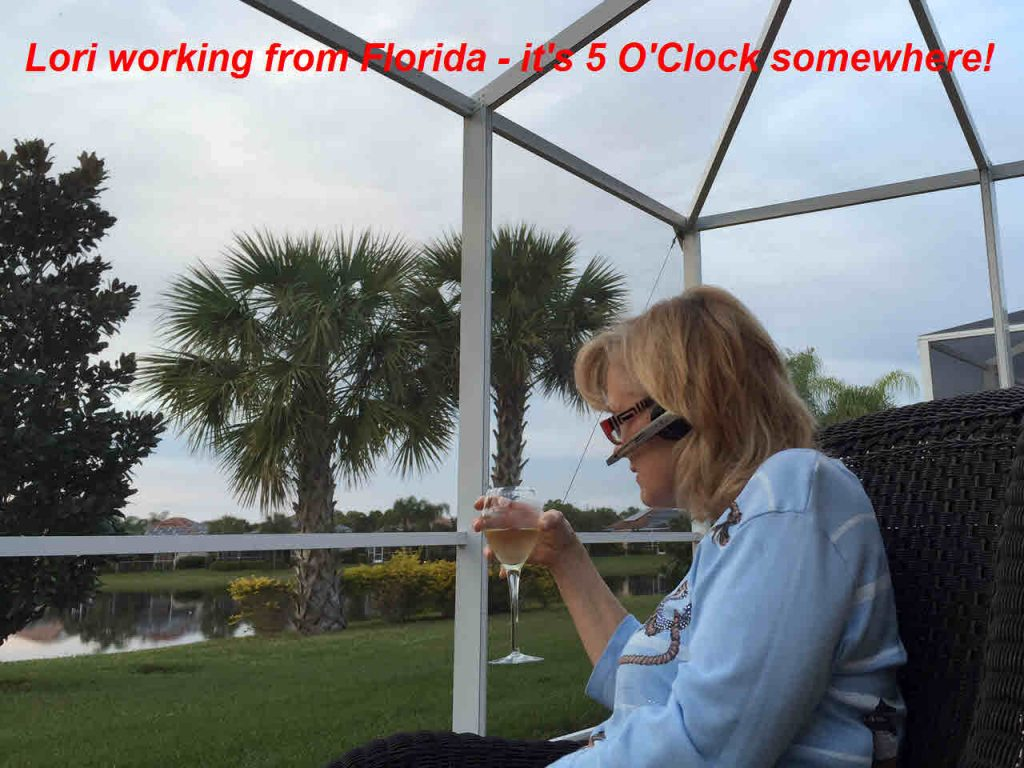 Copy of Lori working remotely