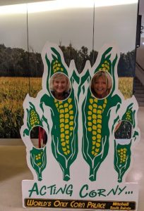 Lori and Gayle Corn Palace